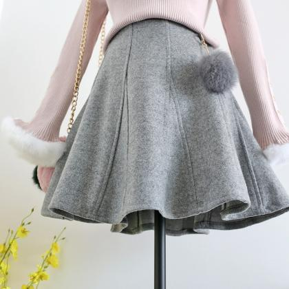Lovely Teen Winter Fluffy Ball Wool..