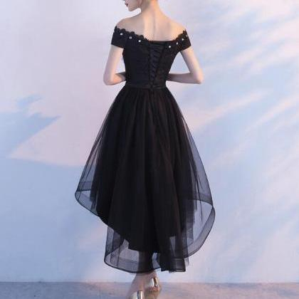 9621bc2b73 Black Lace And Tulle Lovely Party Dress