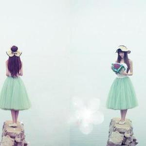 Lovely Skirt, Tulle Skirt 2014, Sum..