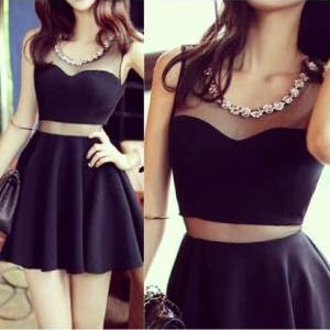 Pretty Sexy Short Little Black Dres..