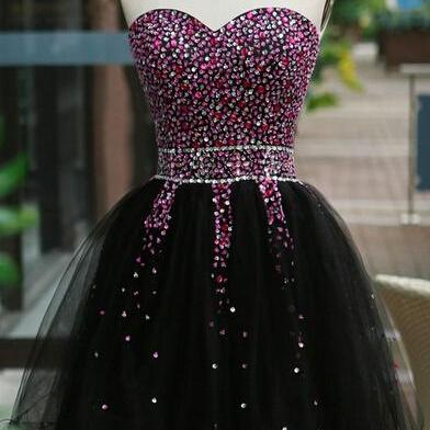 Handmade Sequins Beaded Sweetheart ..