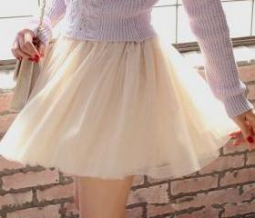 Lovely Tulle Women S..