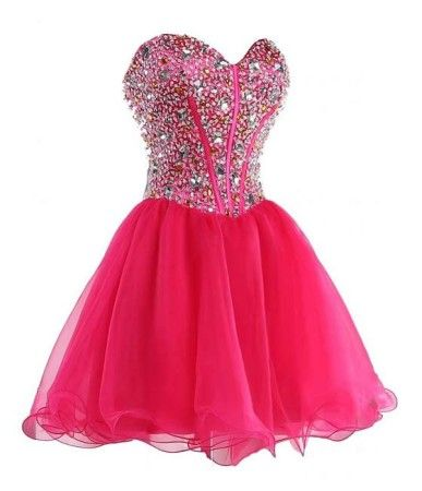 f2efedbb272 Short Beadings Hot Ball Gown Prom Dresses