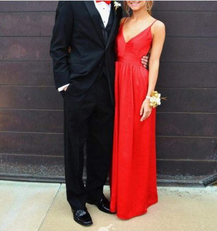 Gorgeous Red Sexy Simple Popular Backless Charming Prom Dress 2017, Evening Party Dress, Sexy Backless Prom Dresses