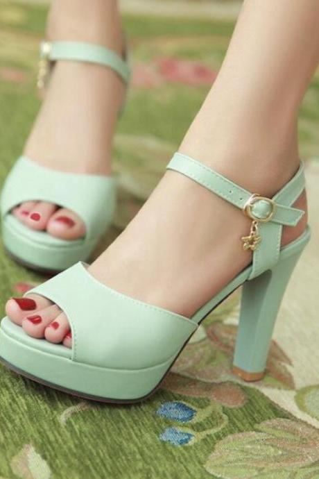 Lovely Women Shoes, High High Heels, Cute Teen Shoes