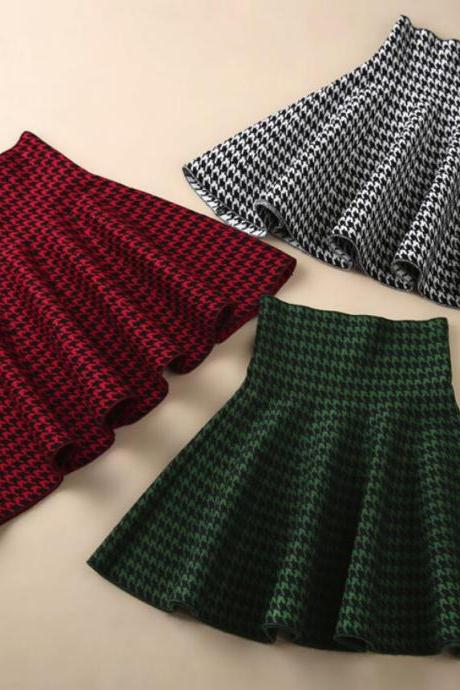 Popular Women Skirts, Autumn/Winter Skirts, Short Skirts 2018