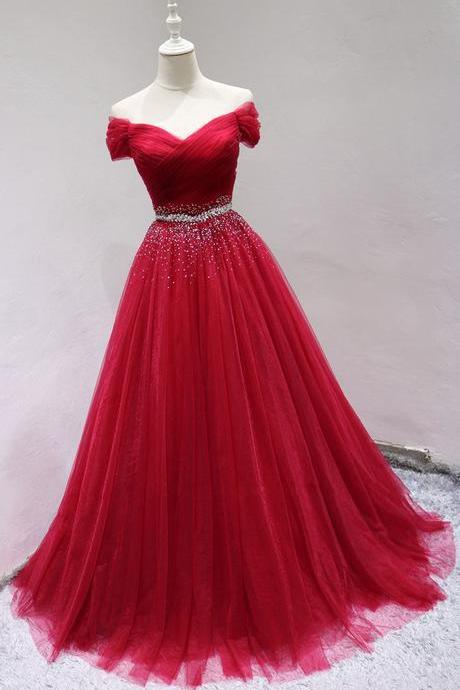 Charming Red Sequins Party Dress 2019, Lovely Formal Dress 2019, Prom Dresses 2019